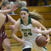 Oshkosh North's Kaylee Anthes is having a huge second half of the season for the Spartans.