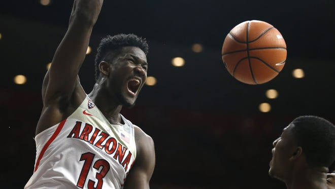 Most recent NBA mock drafts project the Phoenix Suns to take Deandre Ayton with the No. 1 pick in the 2018 NBA draft.