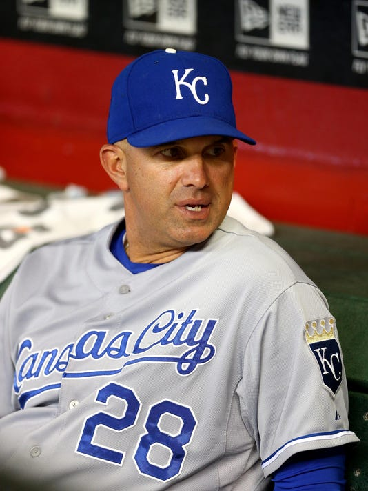 MLB: Kansas City Royals at Arizona Diamondbacks