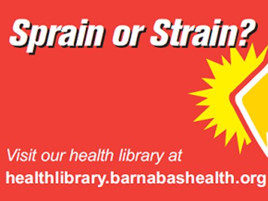 APP Health Footer 08052014 - Sprain or strain