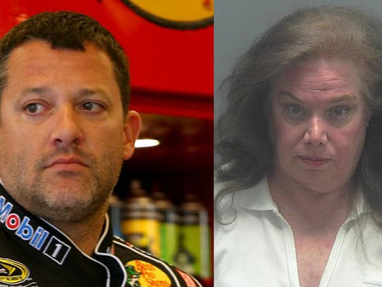 Retired NASCAR driver Tony Stewart and alleged stalker