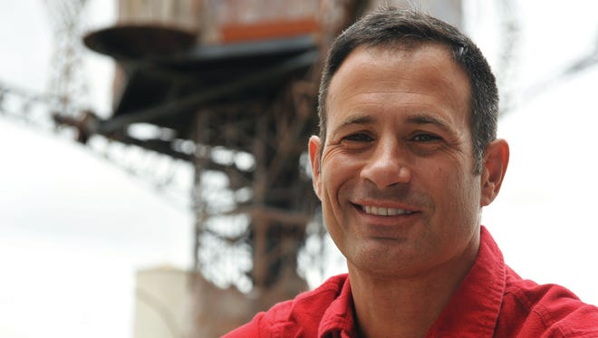 Dogfish Head founder Sam Calagione is seen outside of the Milton brewery that recently topped The Daily Meal's ranking of the best craft breweries in America.
