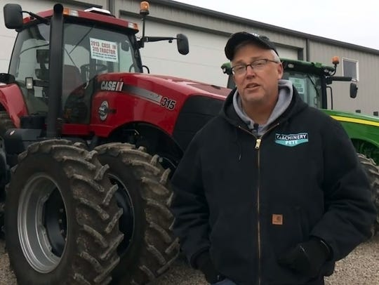 Greg Peterson of Farm Journal Media, known as 'Machinery