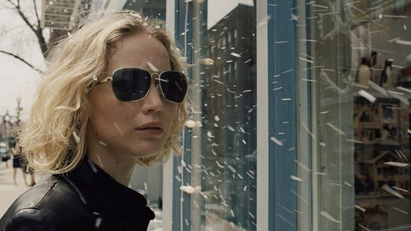 Jennifer Lawrence in a scene from the motion picture 'Joy.'