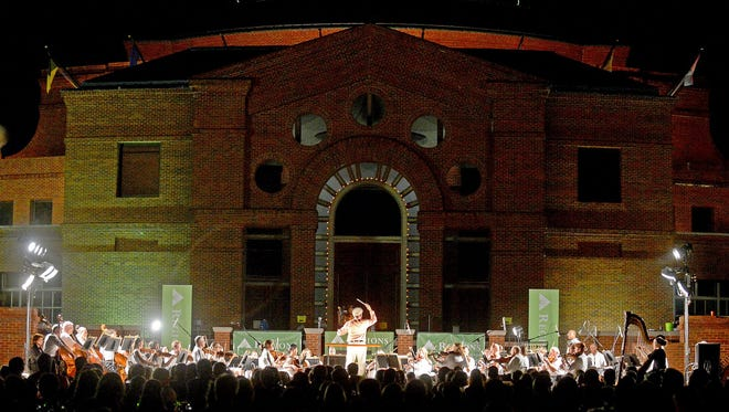 The Montgomery Symphony Orchestra will present the 30th annual Broadway Under the Stars concert on Thursday, Sept. 7, outside the Alabama Shakespeare Festival at Blount Cultural Park in Montgomery, Ala.