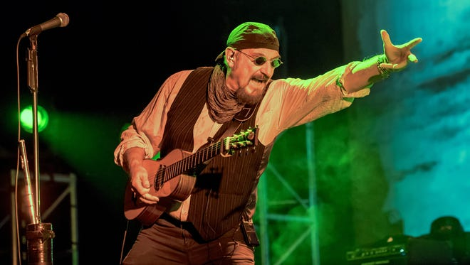 """Ian Anderson performs as """"Jethro Tull"""" this Friday at the Montgomery Performing Arts Centre."""