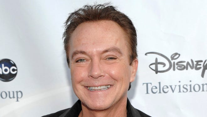 David Cassidy arrives at the ABC Disney Summer press tour party in Pasadena, Calif. on Aug. 8, 2009.