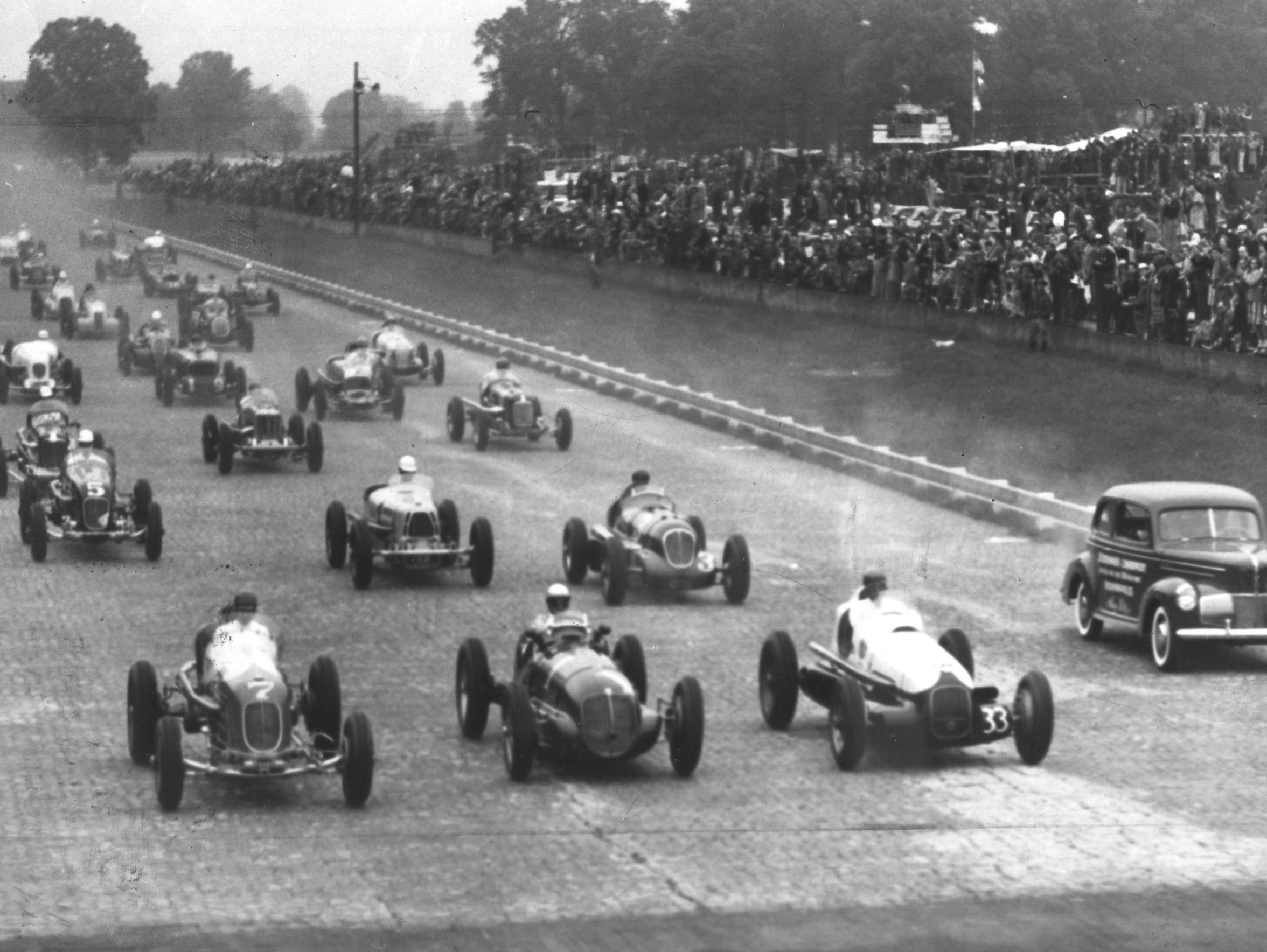 By 1940, drivers were winning the race at an average