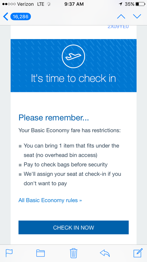 Basic Economy What Its Like In Airlines Cheapest Seats