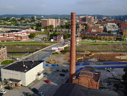 Demolition of Pensupreme smoke stack to start