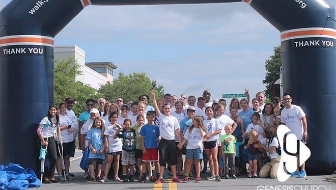 JDRF One Walk will be Saturday, starting at Genesis Church on Fred George Road.