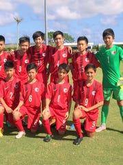 Hong Kong boys U13 soccer team