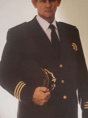 Norm Hurst, in an undated photo, dressed in his San Bernardino County Sheriff's Department uniform.