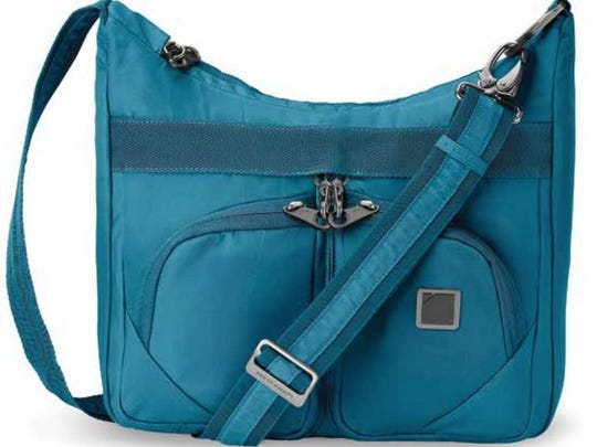 Secura RFID-blocking anti-theft satchel from LCI Brands