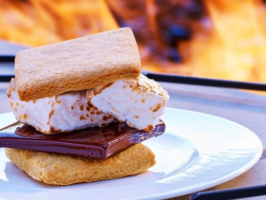The gourmet marshmallow, chocolate and honey cracker at St. Regis Deer Valley