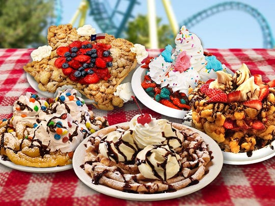 Six Flags' World Famous Funnel Cakes
