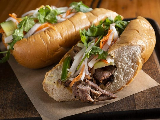 The Vietnamese banh mi balances the Yin and Yang philosophy of satiating hunger with hot and cold ingredients