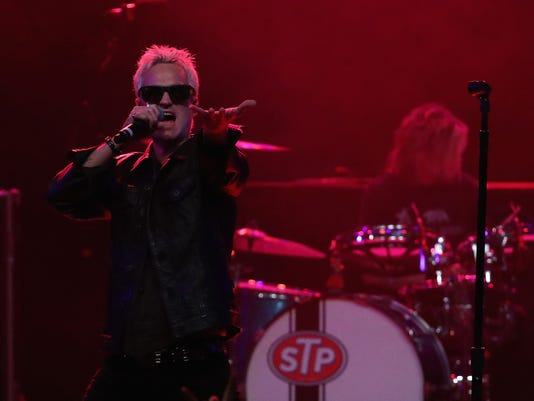 Stone Temple Pilots Perform At Marquee Theatre