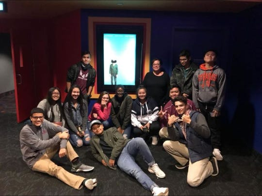 Johnson City High School students invited their former