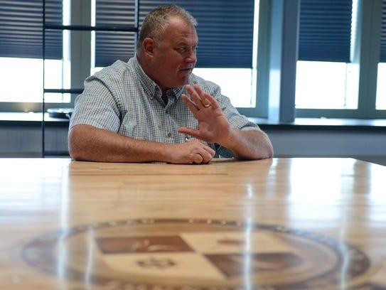Detective Cpl. Brett Case has retired from the Ocean