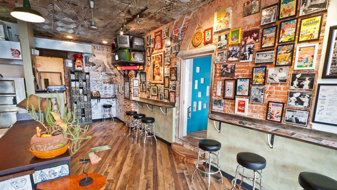 In Philadelphia, Pizza Brain is a collection of pizza-themed memorabilia housed in a small space, which is conveniently attached to a pizza shop.