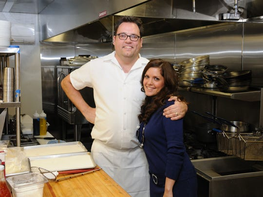 Chef Ryan Nelson and manager Laurie Nelson in the Late Harvest Kitchen at 8605 River Crossing.