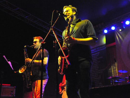 The Euforquestra brought  funk and groove to a weekend
