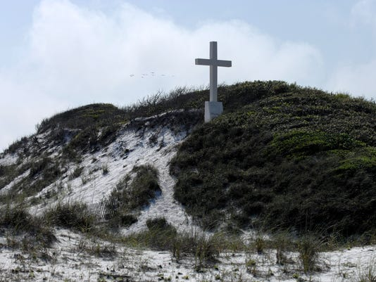 beach cross 2