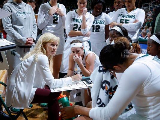 MSU vs Wyoming women's basketball