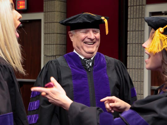 Jim Edwards of Murfreesboro graduated Nashville School of Law with students who were more than half his age.