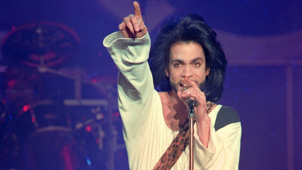 The latest honor for Prince: induction into the Apollo