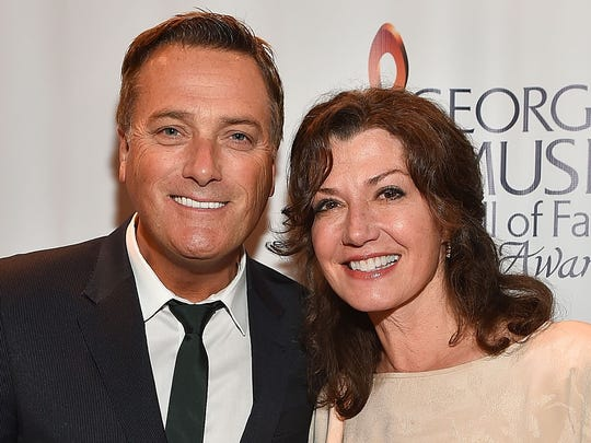 Michael W. Smith, left, and Amy Grant will perform Nov. 26 at Bankers Life Fieldhouse.
