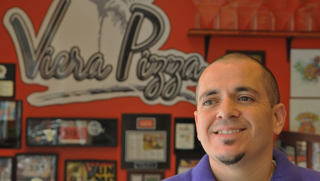 Mike Acosta, owner of Viera Pizza, gives back to the community with proceeds from the Eat My Crust 5K, which will be held Sunday, May 3, at 7 a.m.