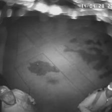A security camera captured two men during a robbery at the home of Indiana Pacers forward Paul George.