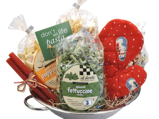 Al Dente pasta offers a huge selection of holiday gift
