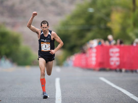 St. George local Aaron J Metler finishes third at the