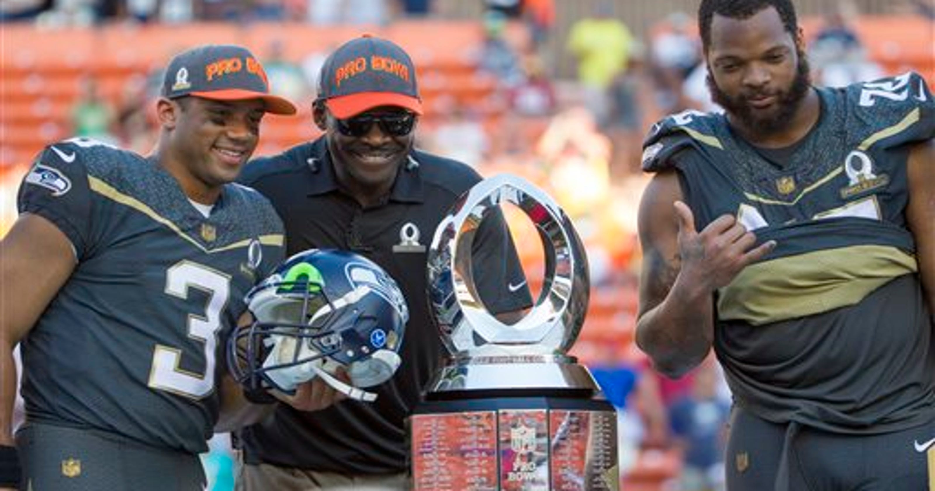 1f2dc1eee Seahawks sweep MVP awards at Pro Bowl