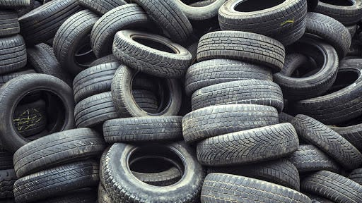 Scrap tires will be collected by Independence Conservancy at four sites during September and October.