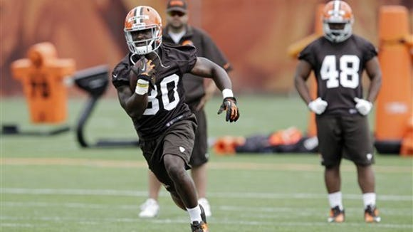 Can former Alabama State star Isaiah Crowell become the next great Cleveland Browns running back?