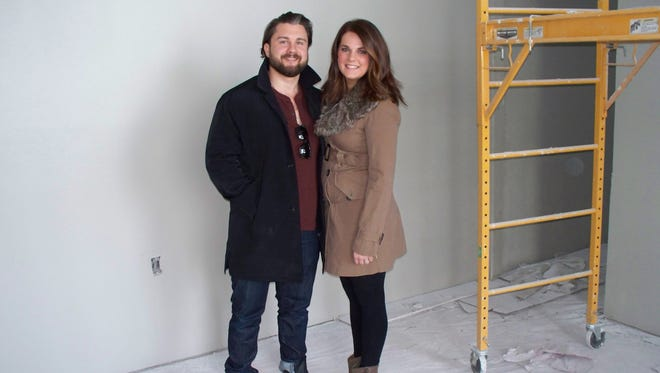 Bobby and Kayla Thompson are the owners of Thompson & Co, a new salon and barber shop opening at 513 E. Washington St. in Iowa City.