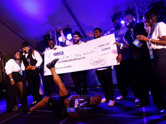 Ricky Latt and Tipsey the Band  wins the 2018 Music Prize during Prize Fest week in downtown Shreveport.