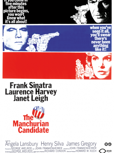 1. The Manchurian Candidate with Angela Lansbury, 1962