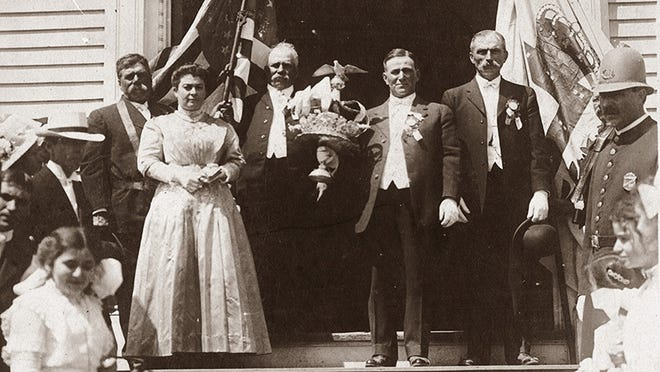 The first Crowning at Our Lady of Good Voyage Church was held in1902.