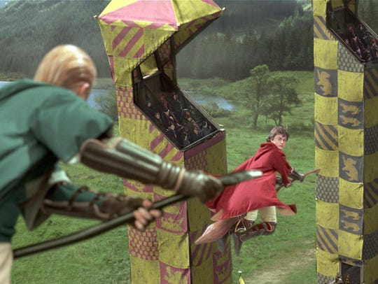 "Quidditch, the once-fictional game from the ""Harry"