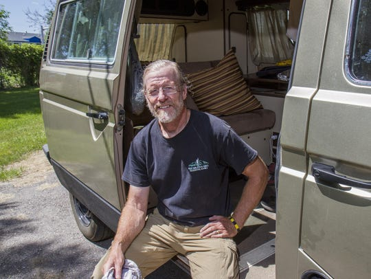 Dave Johnson, 60, of Butte, chose a Volkswagen Vanagon