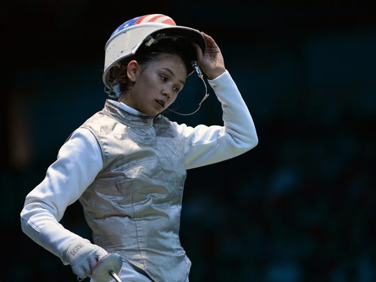 US fencer Lee Kiefer