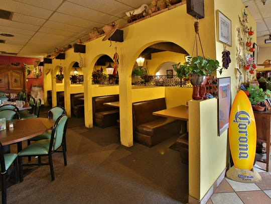 The interior of Casa Reynoso Tempe.