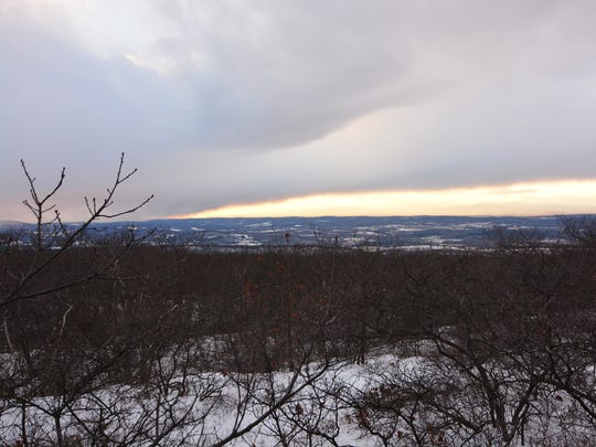 View from the top of Brace Mountain is awe-inspiring and happens to be the highest point in Dutchess County at an elevation of 2,304 feet.