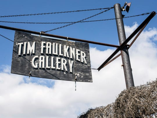 The Tim Faulkner Gallery in Portland was the scene of a multiple shooting on Saturday night that left one person dead and five others hospitalized. March 19, 2017