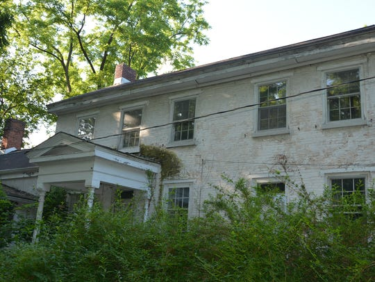 The front of the home owned by the Brennan family for